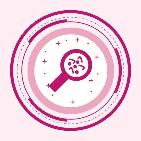 Bacteria Icon Design