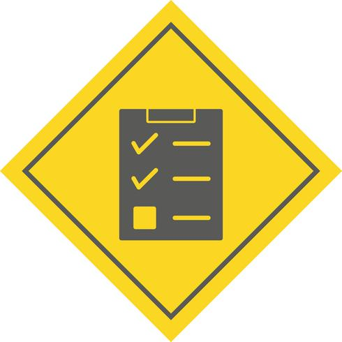 Checklist Icon Design