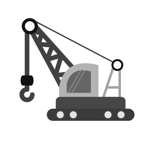 Crane Icon Design
