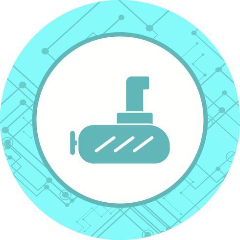 Submarine Icon Design