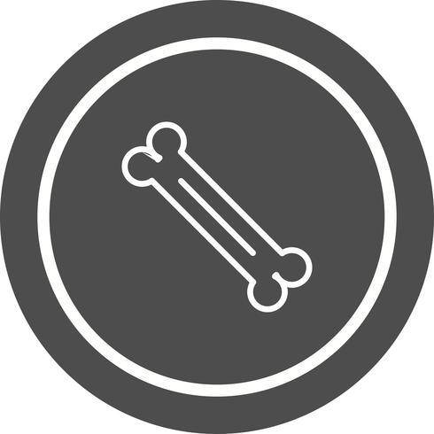 disegno dell'icona dell'osso