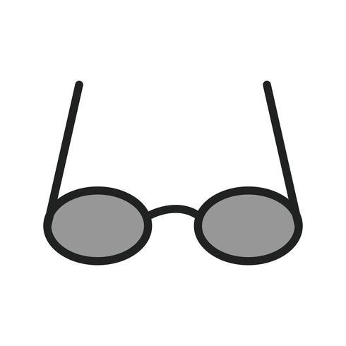 Óculos ícone do design