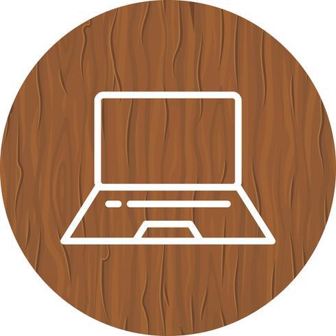Diseño de icono de portátil vector