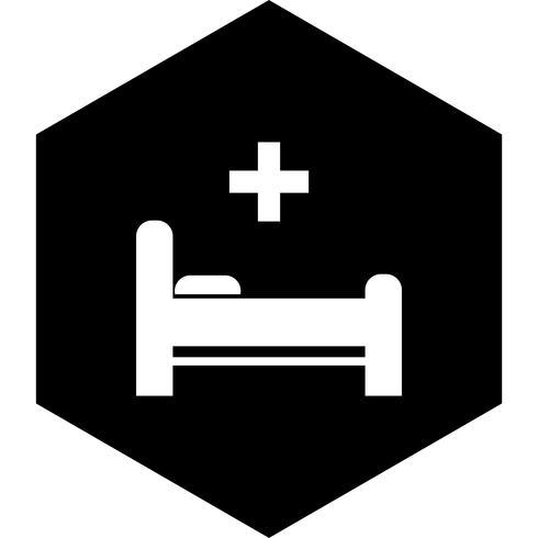 Letto Icon Design vettore