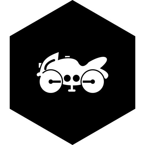 conception d'icône de vélo lourd
