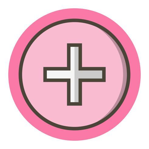 Medizinische Zeichen Icon Design