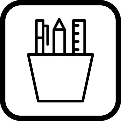 Briefpapier pictogram ontwerp