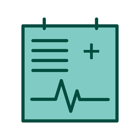 Projeto de ícone gráfico médico