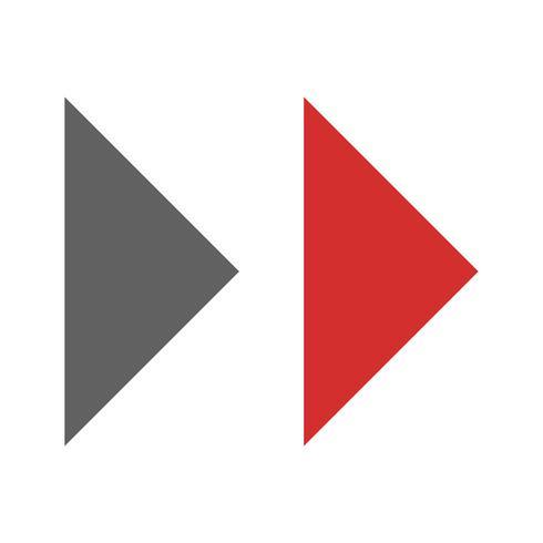 Forward Arrows Icon Design