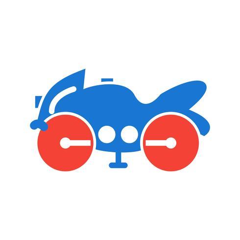 zware fiets pictogram ontwerp