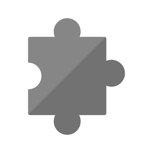 pusselbit ikon design