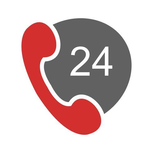 Servizi telefonici Icon Design