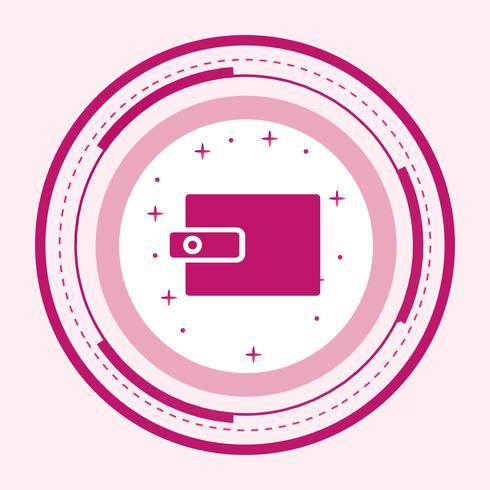 Design de ícone de carteira