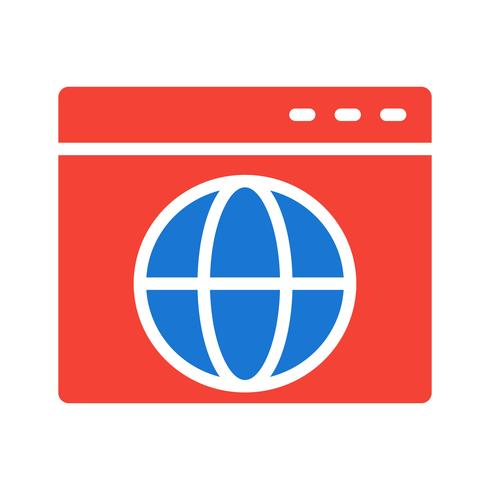 browser pictogram ontwerp