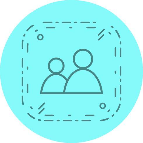 Diseño de iconos de usuarios vector