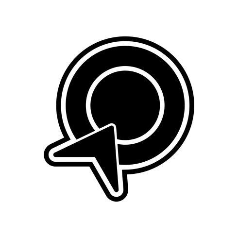 Diseño de iconos de pago por clic