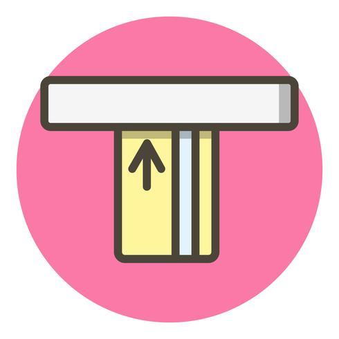 disegno dell'icona di atm