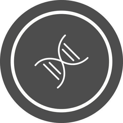 Disegno dell'icona di genetica
