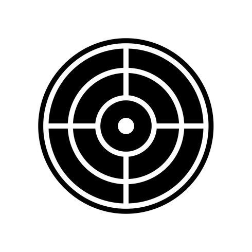 design d'icône cible