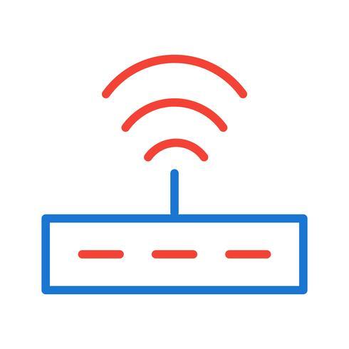 Disegno dell'icona del router