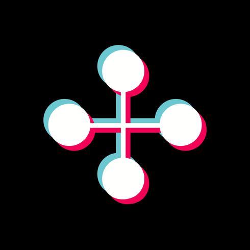 link edifício ícone design