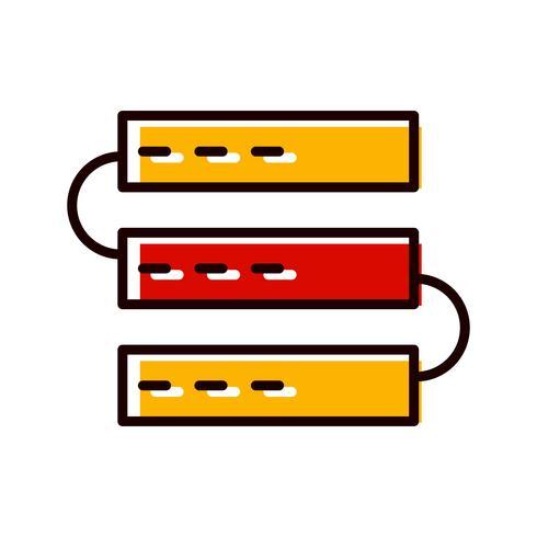 Servers pictogram ontwerp