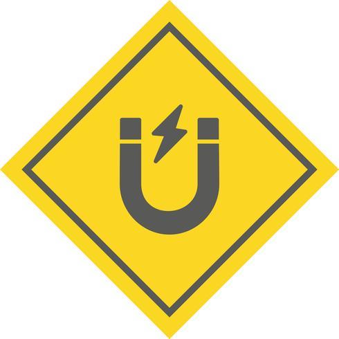 Magneet pictogram ontwerp