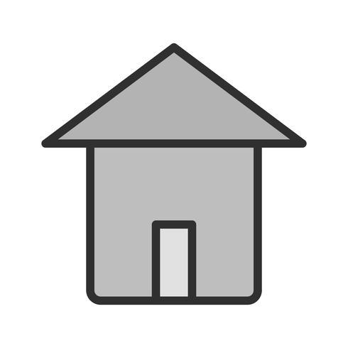 disegno dell'icona domestica