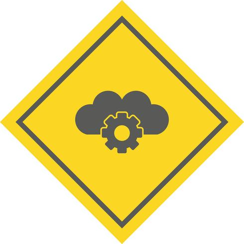 Conception de l'icône des paramètres du nuage