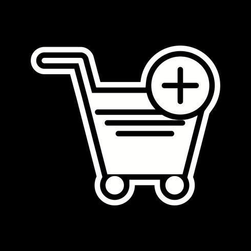 Lägg i varukorgen Icon Design vektor