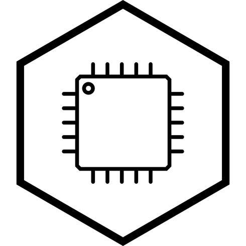 Procesador icono de diseño