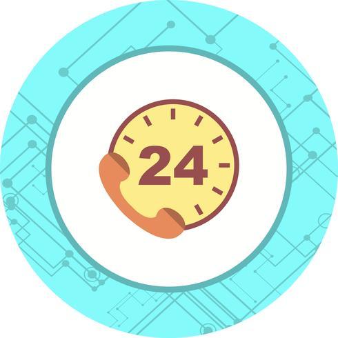 Design de ícone de serviços de telefone vetor