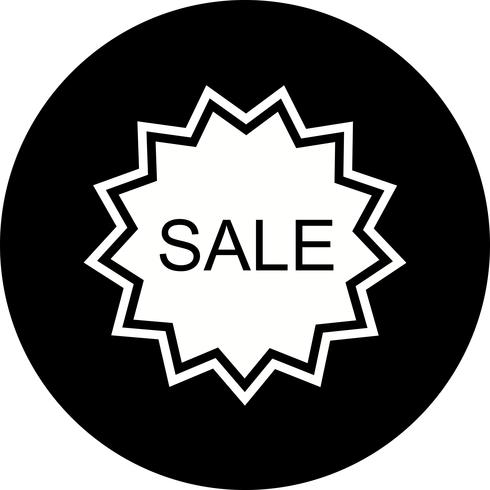 Diseño de icono de venta vector