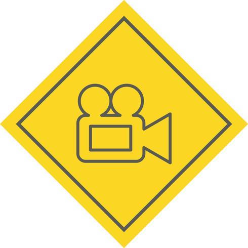 Video Camera Icon Design