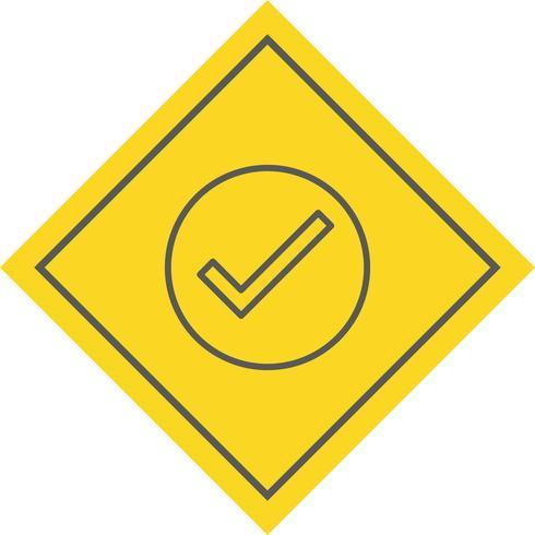 Diseño de icono válido
