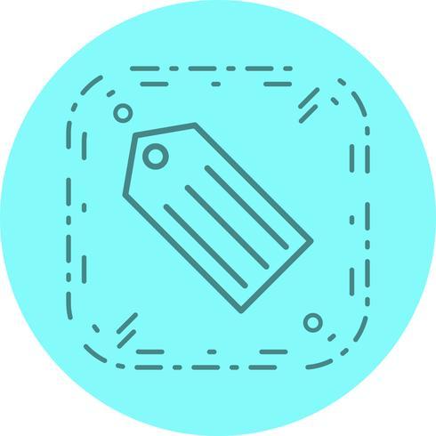 Tag Icon Design vector