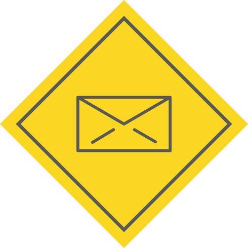 conception d'icône de courrier électronique
