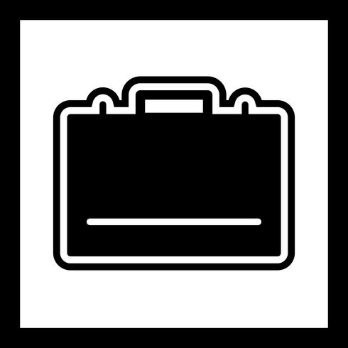 Väskan Icon Design vektor