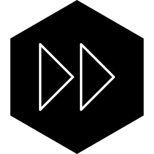 Vorwärtspfeil-Icon-Design