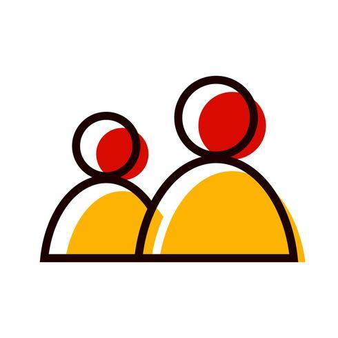 Users Icon Design vector