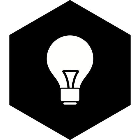 Diseño de icono de bombilla