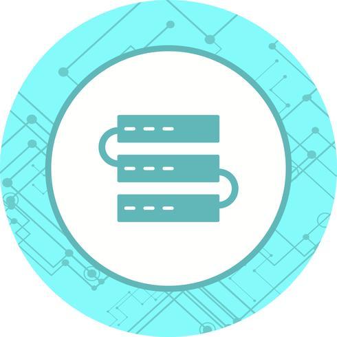 Conception d'icônes de serveurs vecteur