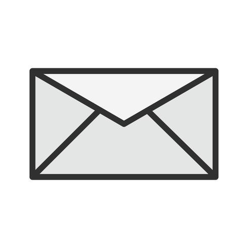 disegno dell'icona della posta in arrivo