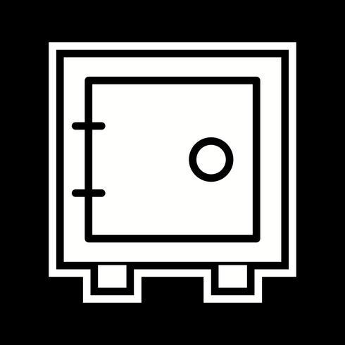 Vault Icon Design vector
