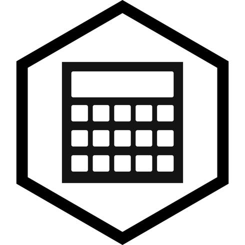 Beräkning Ikon Design vektor