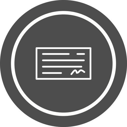 Controlla il design delle icone vettore