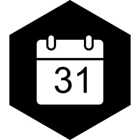 Diseño de icono de calendario vector