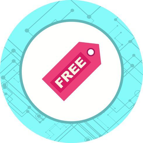 Diseño de icono de etiqueta gratis vector