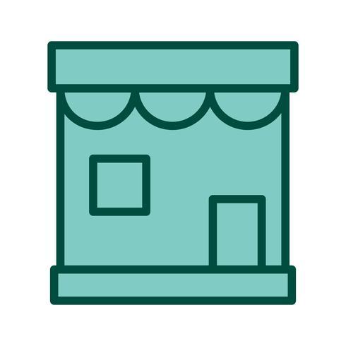 Diseño de icono de tienda vector
