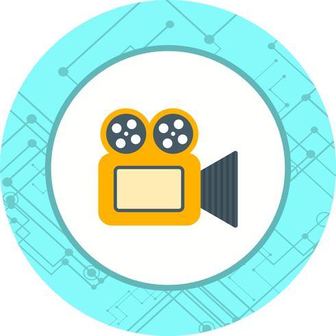 Videokamera Ikon Design vektor